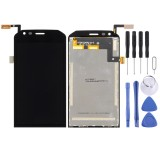 LCD Screen and Digitizer Full Assembly for Caterpillar CAT S40 (Black)