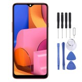 Original IPS LCD Material LCD Screen and Digitizer Full Assembly for Galaxy A20s