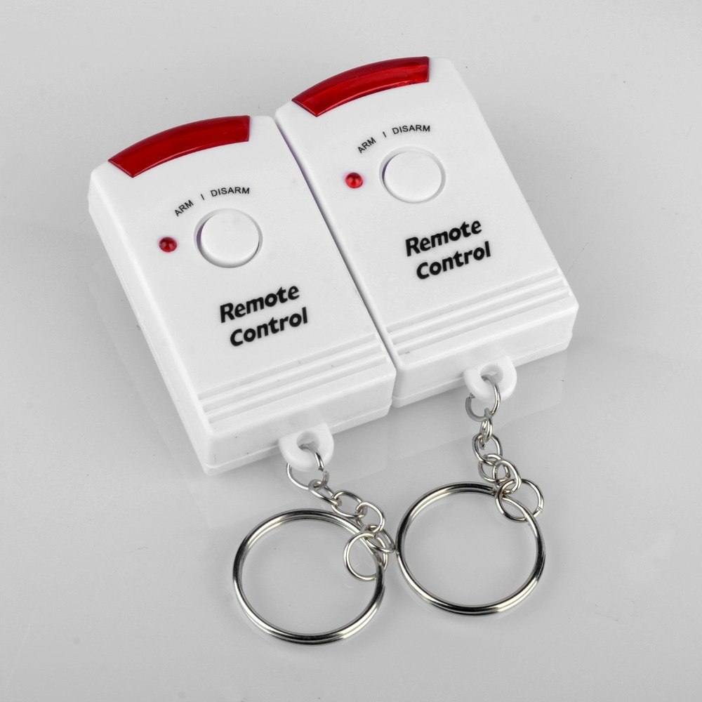 Wireless Remote Controller Wireless Home Security PIR Alert Infrared Sensor Alarm System Anti-theft Motion Detector Alarm 105DB Siren