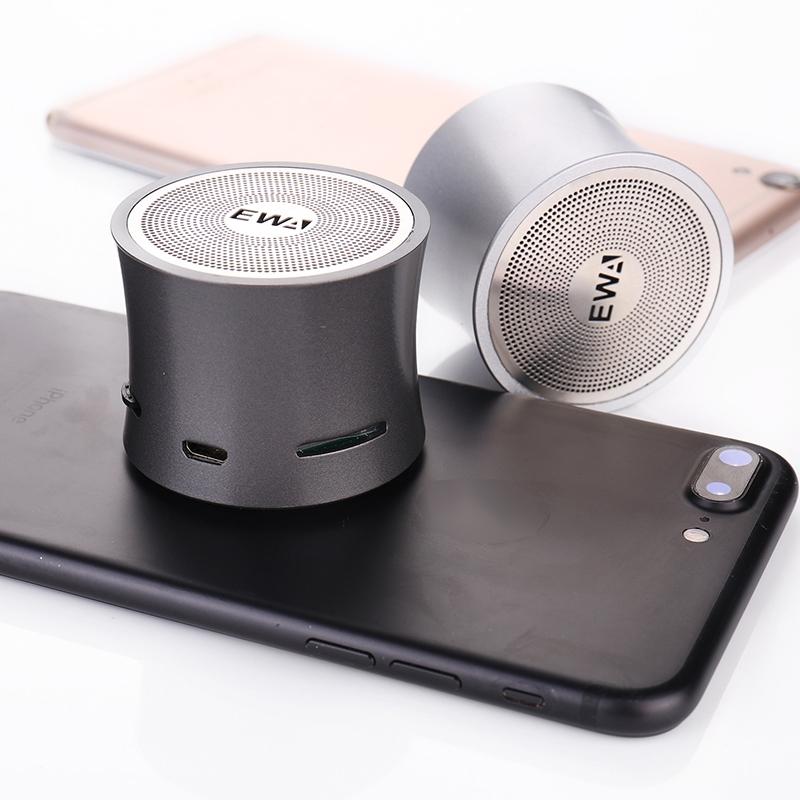 EWA A104 Bluetooth Speaker MP3 Player Portable Speaker Metallic USB Input MP3 Player Stereo Multimedia Speaker (Blue)