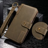 For Galaxy Note9 Cowhide Texture Horizontal Flip Leather Case with Holder & Card Slots & Wallet & Lanyard (Coffee)