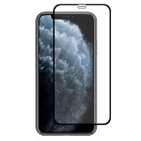 For iPhone 11 Pro Hat-Prince 2 in 1 Full Glue 0.26mm 9H 2.5D Tempered Glass Full Coverage Protector + 0.2mm 9H 2.15D Round Edge Rear Camera Lens Tempered Glass Film