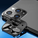 ENKAY Hat-prince Rear Camera Lens Metal Protection Cover for iPhone 11 Pro / 11 Pro Max (Black)