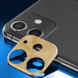 ENKAY Hat-prince Rear Camera Lens Metal Protection Cover for iPhone 11 (Gold)