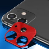 ENKAY Hat-prince Rear Camera Lens Metal Protection Cover for iPhone 11 (Red)