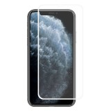 For iPhone 11 Pro Max ENKAY Hat-prince Full Glue 0.26mm 9H 2.5D Front Tempered Glass Full Coverage Film and Black Film with Camera Lens Protector Function (White)