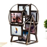 Creative Plastic Rotating Photo frame 5 inch Retro Ferris Wheel Windmill Photo Frame (Retro)