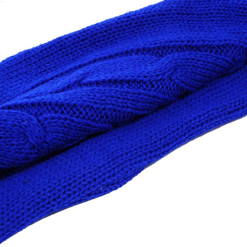 Hot Water Bottle Solid Color Knitting Cover (Without Hot Water Bottle) Water-filled Hot Water Soft Knitting Bottle Velvet Bag (Brown small mouse)