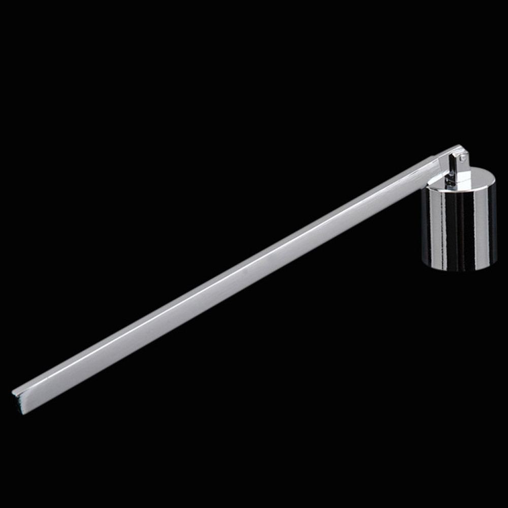 Candle Extinguisher Cover Candle Candle Hood Candle Candle Scent Candle Tool, Color: Silver