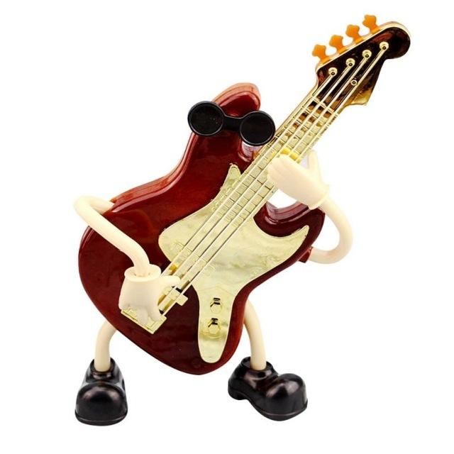 Plastic Violin Shape Music Box Movement Clockwork Music Box Gift (63246)