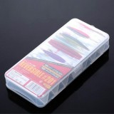 5 PCS Set Bait Special Road Sub-Box Storage Box Double Tool Box Sequin Box Fake Bait Box Wood Shrimp Box