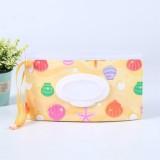 Baby Wipes Portable Removable Bag EVA Flip Sanitary Wipes Bag (Shells)
