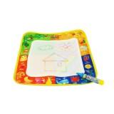 3 PCS Magic Graffiti Water Writing Cloth Children Foldable Drawing Board with Pen, Size: 29cm x 29cm (Animal)