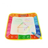 3 PCS Magic Graffiti Water Writing Cloth Children Foldable Drawing Board with Pen, Size: 29cm x 29cm (Alphabet)