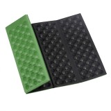 Folding Chair Outdoor Chair Ultralight Camping Chair Foldable Outdoor Seat Foam XPE Cushion Portable Waterproof Camping Pad (Green)