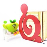 2 PCS Book Bezel Book Metal Book Stand Bookmark Note Book Stand (Red Treble)
