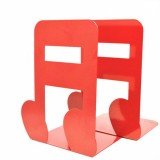 2 PCS Book Bezel Book Metal Book Stand Bookmark Note Book Stand (Red Sixteen Points)