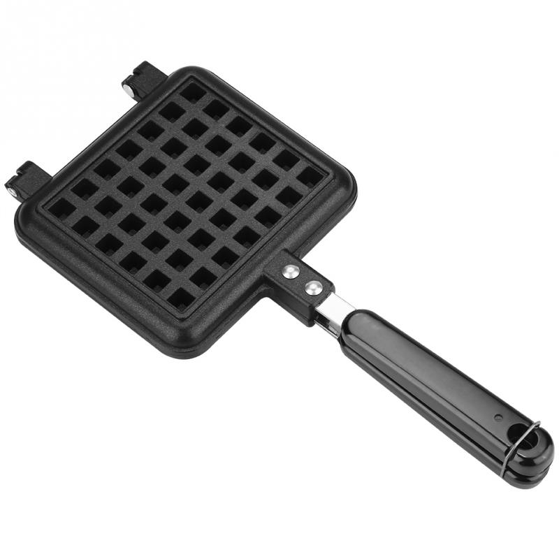 2 PCS Electric Non-Stick Waffles Mold Maker Kitchen Cake Oven