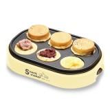 Electric Eggs Cake Pie Maker Breakfast Baking Frying Pan Roller Cake Machine