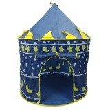 Ultralarge Children Beach Tent Baby Toy Play Game House Kids Princess Prince Castle Indoor Outdoor Toys Tents Christmas Gifts (Black)