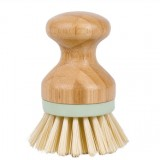 Multifunctional Tool Kitchen Cleaning Brush Wooden Handle Dish Scrubber Pot Pan Dishwasher, Material: Solid wood