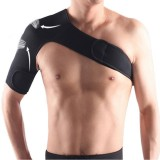 Breathable Adjustable Shoulder Support Brace Unisex Sport Compression Brace Strap Wrap Shoulder Belt, Size: Right Shoulder