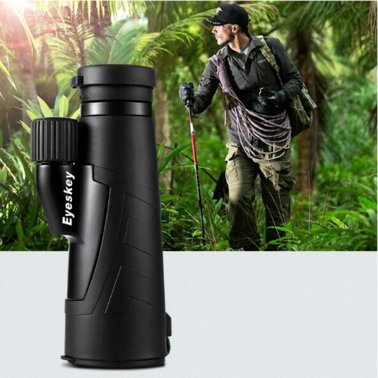 Outdoor HD Portable Monocular Binoculars Mobile Telescope Low-light Night Vision Monoscope Fishing Telescope (10X50)