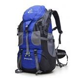 Free Knight 50L Outdoor Sport Camping Mountaineering Hiking Backpacks Waterproof Sports Bag (Purple)