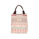 2 PCS Fashion Animal Canvas Portable Insulation Bag Lunch Bag Lunch Box Bag (Pattern)
