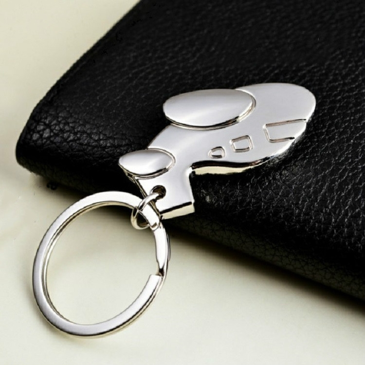 Creative Aircraft Keychain Bag Pendant Memorial Small Gift, Specification: 2.6 x 4.6 cm (Silver Plane)