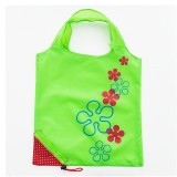 2 PCS Creative Strawberry Shopping Reusable Folding Reusable Grocery Shopping Bag (Green)