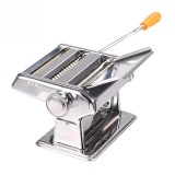 Household Stainless Steel Pasta Making Machine Manual Noodle Maker Spaghetti Hand Cutter