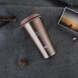 500ML Portable Stainless Steel Creative Gift Coffee Cup Office Vacuum Thermos Mug (Coffee)