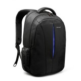 Waterproof 15.6-inch Laptop Backpack Anti-theft Business Travel Backpack School Bag (Black+Blue)