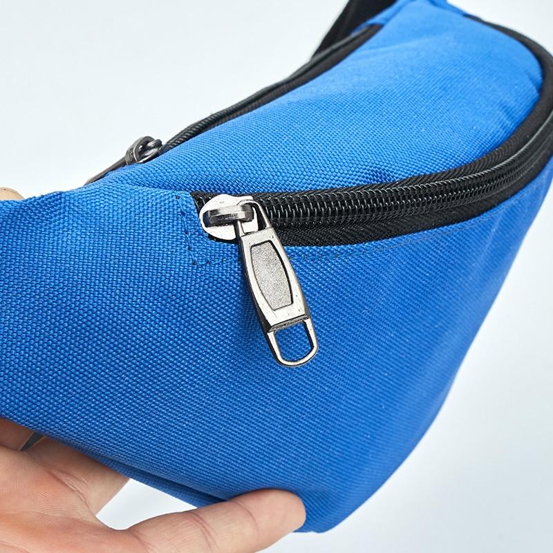 Unisex Waterproof Waist Pack Belly Bags Purse (Blue)