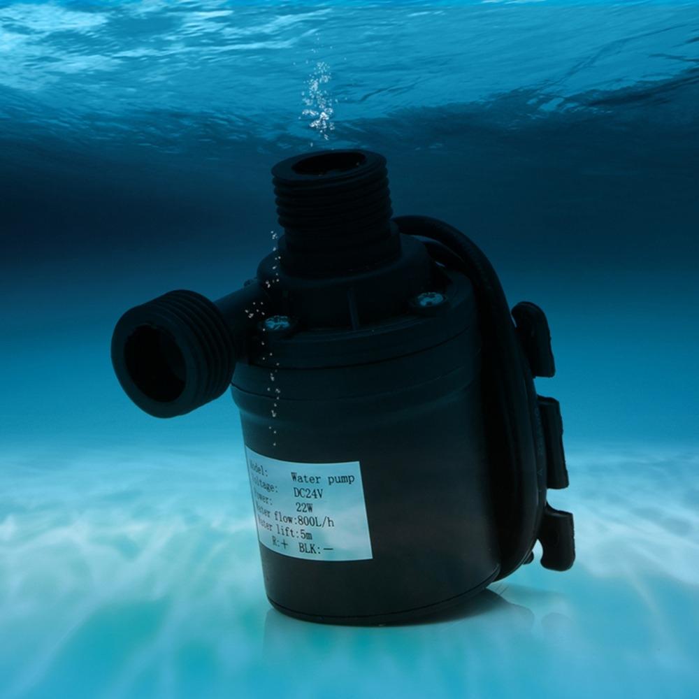 2 PCS 800L/H Flow Rate Solar Brushless Motor Water Circulation Irrigation Pump Submersibles Water Pumps (12V)