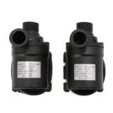 2 PCS 800L/H Flow Rate Solar Brushless Motor Water Circulation Irrigation Pump Submersibles Water Pumps (24V)