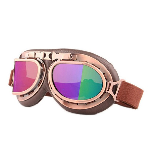 Protective Glasses Dustproof Anti-wind / Sand Riding Motorcycle Goggles Industrial Goggles (Colorful Lens)