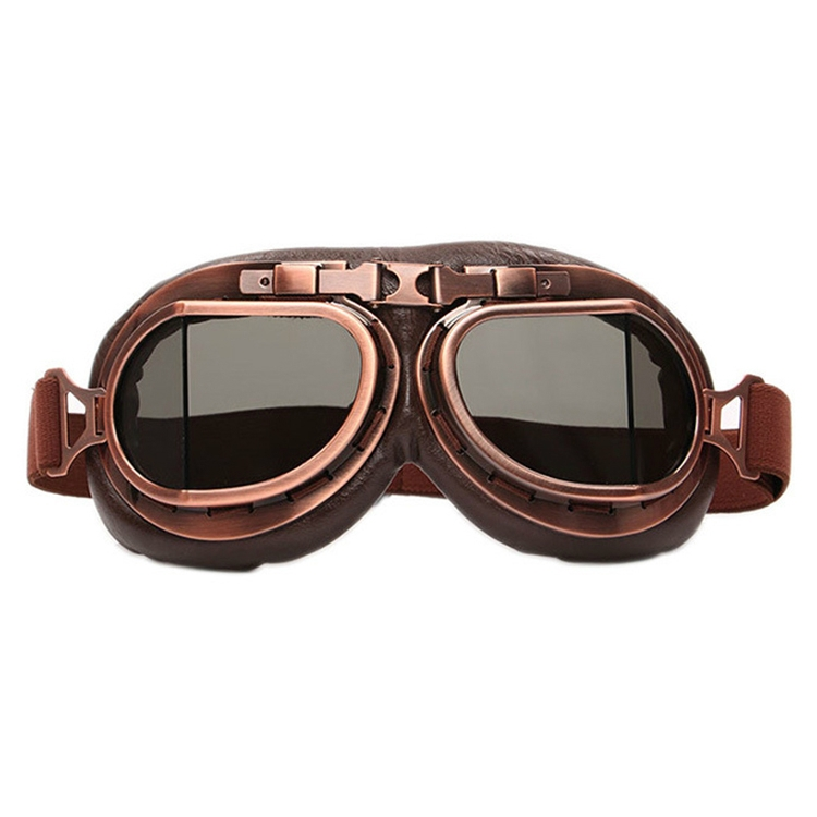 Protective Glasses Dustproof Anti-wind / Sand Riding Motorcycle Goggles Industrial Goggles (Brown Lens)