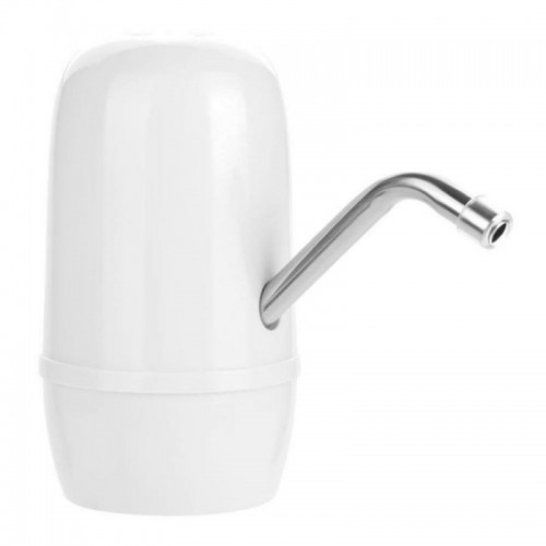 USB Fast Charging Electric Automatic Pump Dispenser Double Motor Bottle Drinking Water Pump (White)