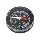 10 PCS DC45 Portable Mini Precise Compass Practical Guider for Camping Hiking North Navigation Survival Button Design Compass, Diameter: 45mm (Black)