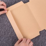 Kraft Paper Book Cover 32K Books Protective Thicken Kraft Paper Cover