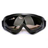 Windproof UV Resistant Ski Goggles Multi-functional Outdoor Sport Goggles (Brown Lens)