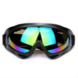 Windproof UV Resistant Ski Goggles Multi-functional Outdoor Sport Goggles (Colorful Lens)