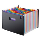 Organ Expanding Colored File Folder A4 Organizer Portable Business Office Supplies, Size: 33×23.5cm, Size: 24 Pockets