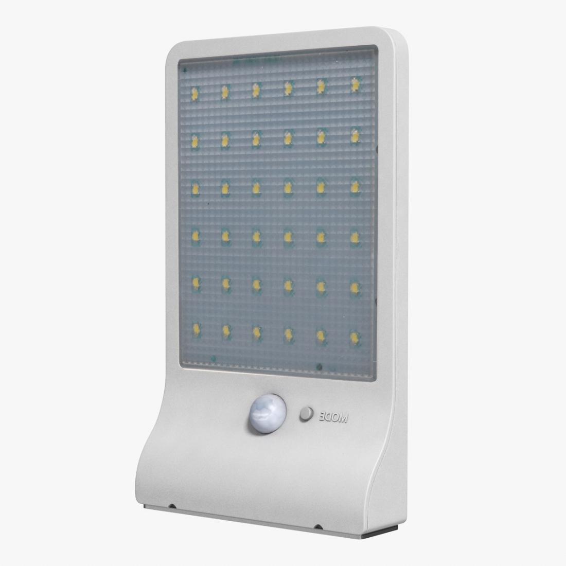 4W 36 LEDs 450 LM IP65 Waterproof Solar Powered Street Light PIR Motion Sensor Outdoor Garden Lamp (White)