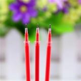 100 PCS Neutral Ink Gel Pen Pen Refill 0.38mm Bullet Refill (Needle Tip Of Red)