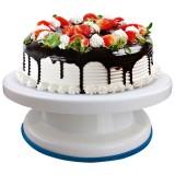 Baking Tools Plastic Spatula Non-slip Edge Cake Decorating Turntable (Non-slip side turntable)