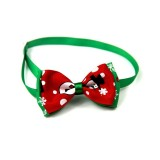 5 PCS Christmas Holiday Pet Cat Dog Collar Bow Tie Adjustable Neck Strap Cat Dog Grooming Accessories Pet Product (2)