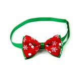 5 PCS Christmas Holiday Pet Cat Dog Collar Bow Tie Adjustable Neck Strap Cat Dog Grooming Accessories Pet Product (5)